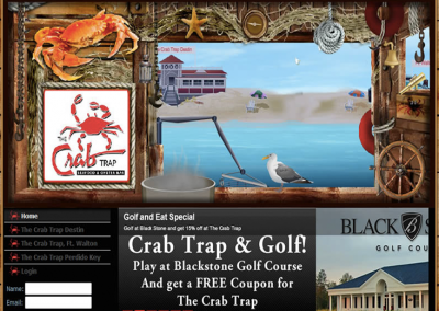 Crab Trap Website
