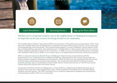 Custom website and logo