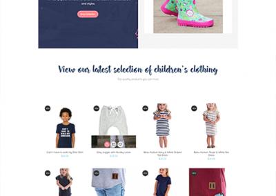 Custom WooCommerce Website