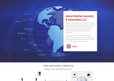 Custom WooCommerce Website for RedEye Security & Associates, LLC
